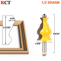Large Elegant Picture Frame Molding Router Bit 1 2 Shank RCT