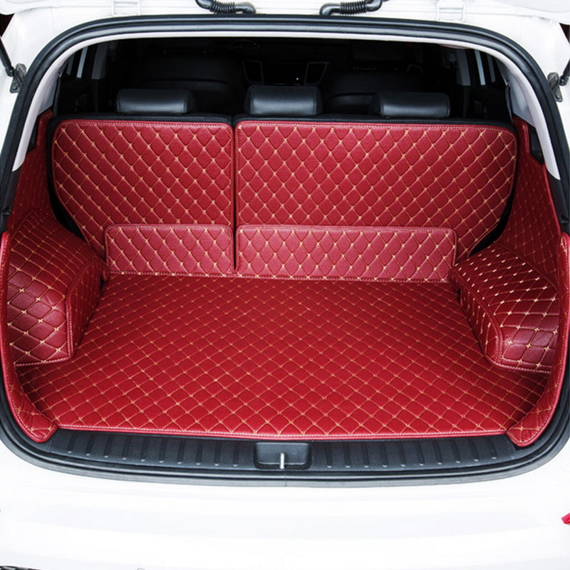 ZHIHUI Custom car trunk mat for LAND ROVER RANGE ROVER SPORT VELAR EVOAUE DISCOVERY series auto trunk mats accessories