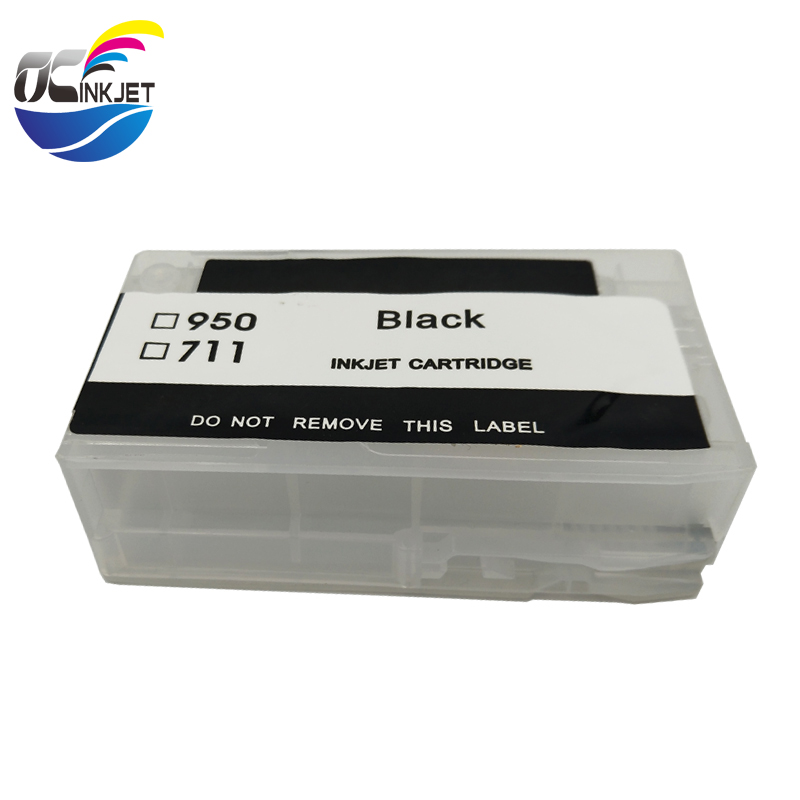 OCINKJET 950 <font><b>951</b></font> Refillable Empty Ink Cartridge For <font><b>HP</b></font> 950 <font><b>951</b></font> 950XL 951XL For <font><b>HP</b></font> Officejet Pro 8100 8600 With Stable Chip image