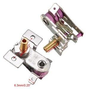 UXCELL 5 шт. 250В 16А термостат нагреватель переключатели рисоварка термостат электрическая духовка регулируемый нагреватель регуляторы температуры