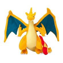 "1Pcs 10 ""25Cm Mega Charizard Knuffels Charizard Y Pluche Doll Gevulde Soft Goede Kwaliteit Grote Gift gratis Verzending(China)"