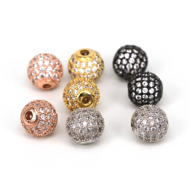 Beads Jewelry & Accessories Independent Hot Sale 50pcs 10mm Dutch Purple Shamballa Beads Crystal Disco Ball Beads Shambhala Spacer Beads Shamballa Bracelet Crystal Clay