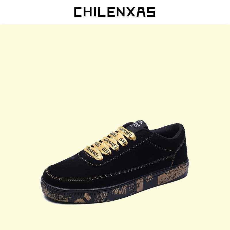 CHILENXAS 2017 Spring Autumn New Unisex Leather Casual Shoe Breathable Casual Fashion Flats Height Increasing shoes men Solid micro micro 2017 men casual shoes comfortable spring fashion breathable white shoes swallow pattern microfiber shoe yj a081
