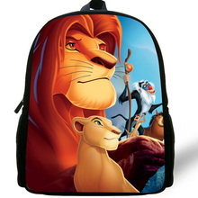 12-inch Simba The Lion King Backpack Kids Boys Cartoon The Lion King School