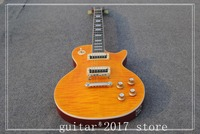 In Stock 1959 R9 Honey Burst Les Chinese Paul LP Style Standard Electric Guitar With EMS