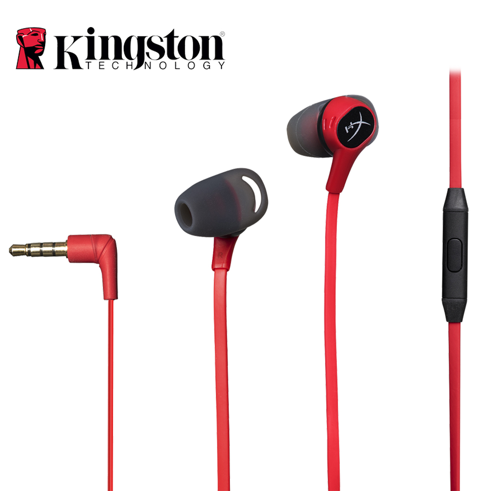 Kingston HyperX Cloud Earbuds Gaming Headset 3.5mm With Microphone Immersive in-game Audio in-ear Earphone For Mobile Phone я immersive digital art 2018 03 22t14 00