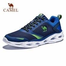 CAMEL для мужчин кроссовки шок Абсорбирующая Подушка дышащая легкая удобная обувь Спорт на открытом воздухе спортивная