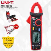 UNI-T UT210E/UT210D Mini pince numérique mètres; ampèremètre à RMS100A-200A véritable, V. F. C./NCV/test de température, rétro-éclairage LCD