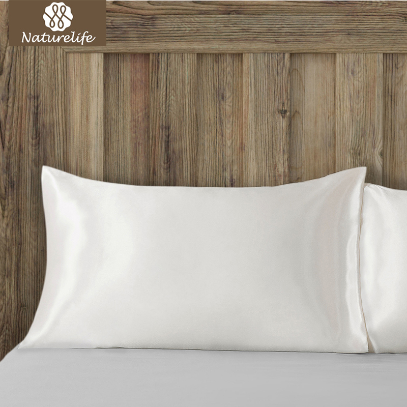 Naturelife MultiColor Silk Pillowcase Luxury Satin