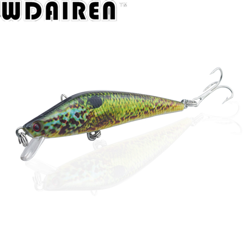 1PC 8cm 8.2g Floating Minnow Fishing Lure Artificial Hard Bait plastic lures river bass pike fish Wobbler Crankbait Pesca WD-41 1pcs 15 5cm 16 3g wobbler fishing lure big minnow crankbait peche bass trolling artificial bait pike carp lures fa 311