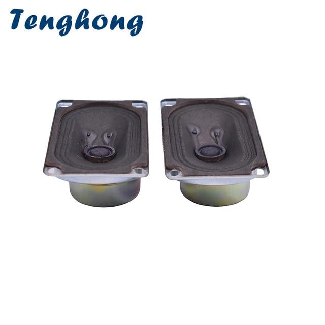 Tenghong 2 pcs 5090 TV Speaker 8Ohm 5 W Audio Draagbare Luidsprekers Full Range Luidspreker Computer Luidspreker Voor Thuis theater DIY
