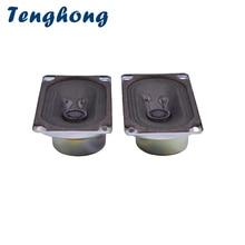Tenghong 2pcs 5090 TV Speaker 8Ohm 5W Audio Portable Speakers Full Range Speaker Unit Computer Loudspeaker For Home Theater DIY