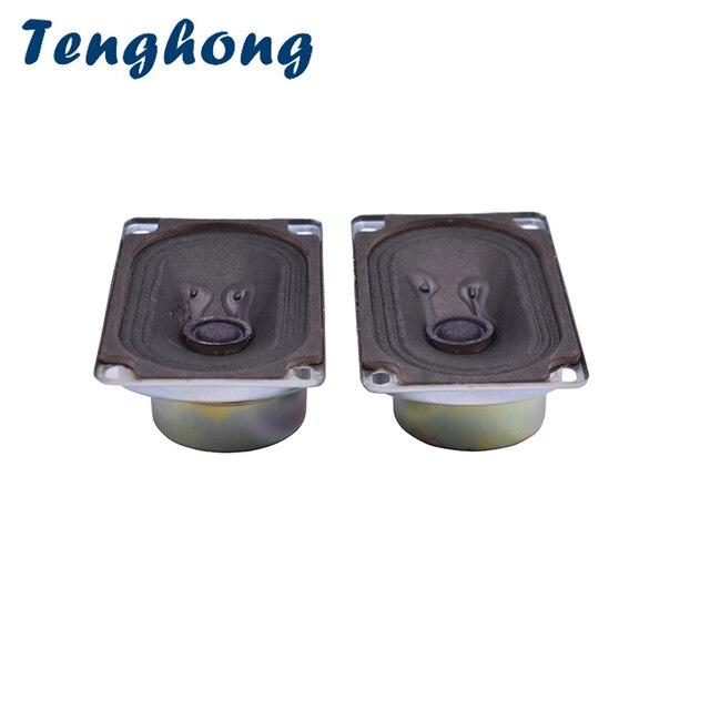 Tenghong altavoz de TV 5090 de 8Ohm y 5W, dispositivo portátil de Audio de gama completa, para cine en casa, bricolaje, 2 uds.