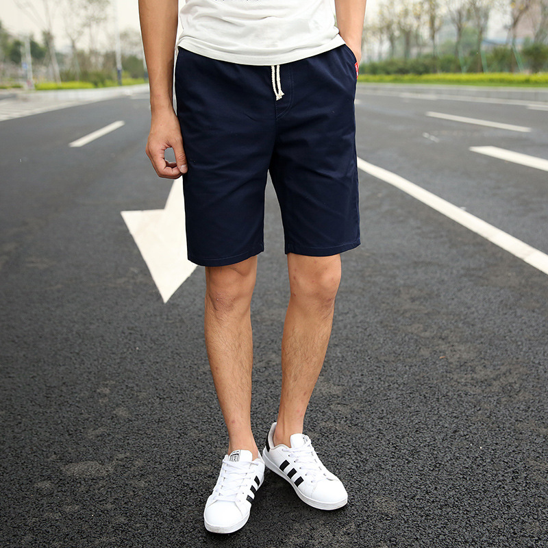Mens Cotton Shorts 2018 Summer Hot Breathable Male Waist Casual Short Pants Business leisure work school M-3XL