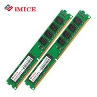 IMICE Desktop PC RAMs DDR3 4GB 2x2GB 1600MHz 1333MHz PC3 10600S CL9 1 5V Computer Memory
