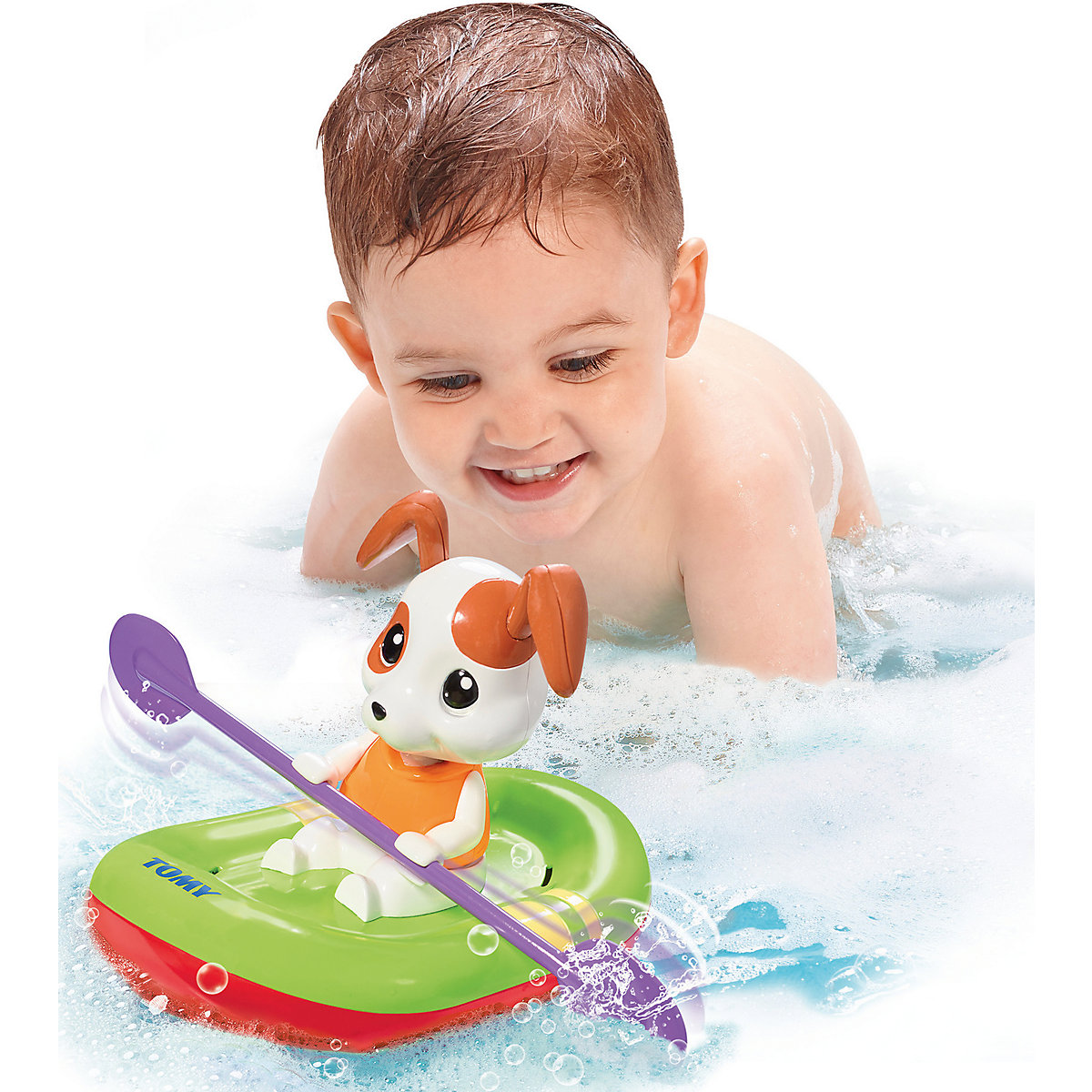 Bath Toy TOMY 4599020 Bathing Bath toys for bathroom on suckers Rubber Duck Doll Kids манеж фея квадрат экстра желтый