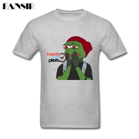 Men T Shirts Latest Design Short Sleeve Crewneck Cotton T Shirt Male Twenty One Pilots Pepe