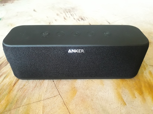 Anker SoundCore Boost 20W Bluetooth Speaker with BassUp Technology 12h Playtime IPX5 Water-Resistant 66ft Bluetooth Range