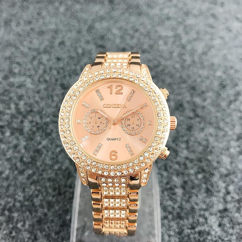 Diamond Bezel horloge horloge Luxe merk mechanische sport horloge - Dameshorloges