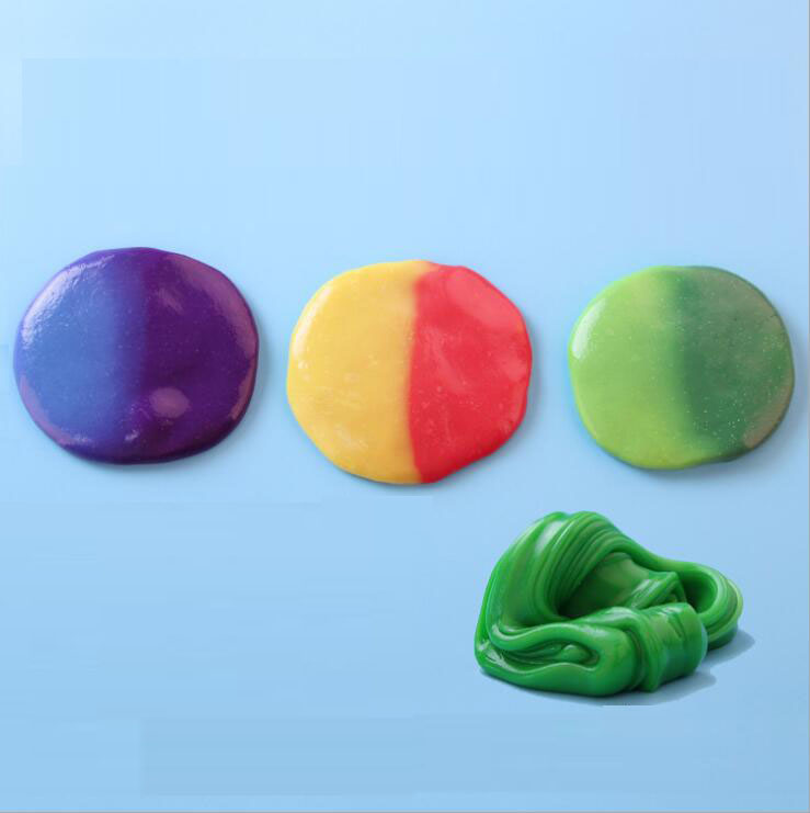 2018 Intelligent Creative Hand Gum Temperature Change Turns Color Silly Putty Light Clay Fimo Plasticine Mud Doh Toys Kids Gift