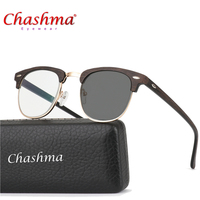 New Sun Photochromic Myopia Eyeglasses Optical Men student Finished Myopia Eyewear prescription Glasses Frame Half Rim