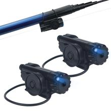FISHNU Sound LED Fishing Chunk Alarms Appropriate Voice No Noise Outside Night time Fish Bells Tie Tightly On Fishing Rods