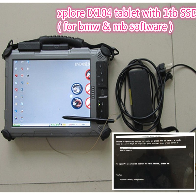 ix104 with software ssd