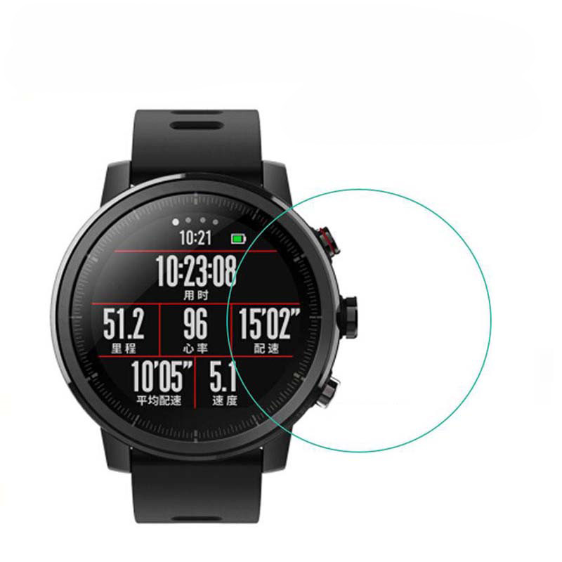 Image 5 - 5pcs Soft TPU Full Screen Protector For Xiaomi Huami Amazfit Stratos 2 2S Pace GTR 47mm 42mm Sport Smart Watch Guard Film Cover-in Smart Accessories from Consumer Electronics