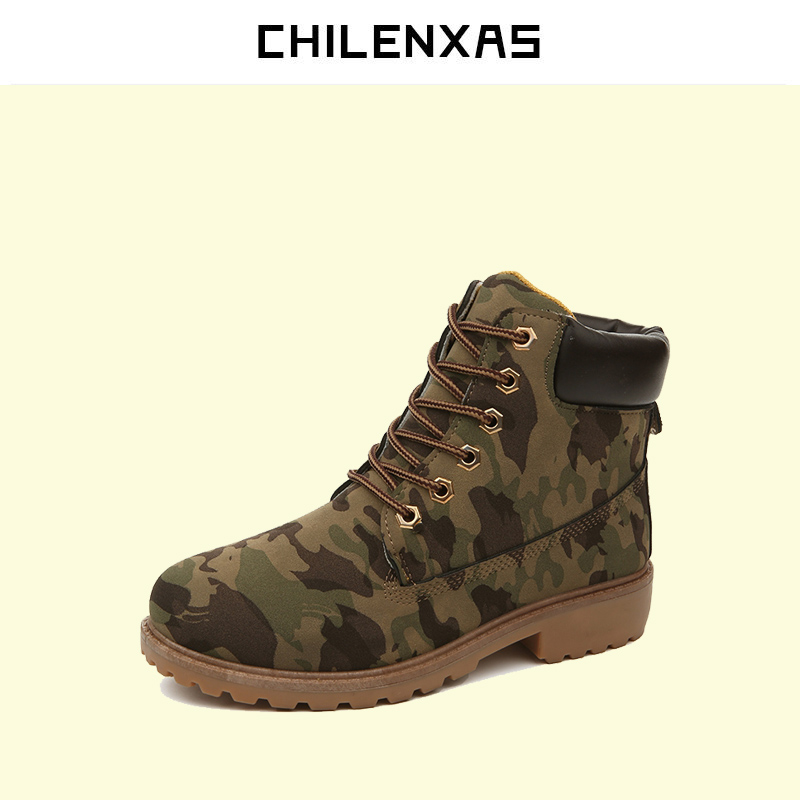 CHILENXAS 2017 Winter New Fashion Big Size Men Casual lovers Shoes Breathable Comfortable Lace-up Hard-wearing Frock waterproof chilenxas new fashion spring autumn leather men casual shoes breathable lightweight comfortable lace up solid waterproof 2017