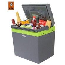 Холодильник автомобильный MYSTERY MTC-25 (Напряжение питания 12В/220В, объем 25 л, макс.мощность 58 Вт, охлаждение на 15-18°С ниже окружающей среды, нагрев до +65°С)
