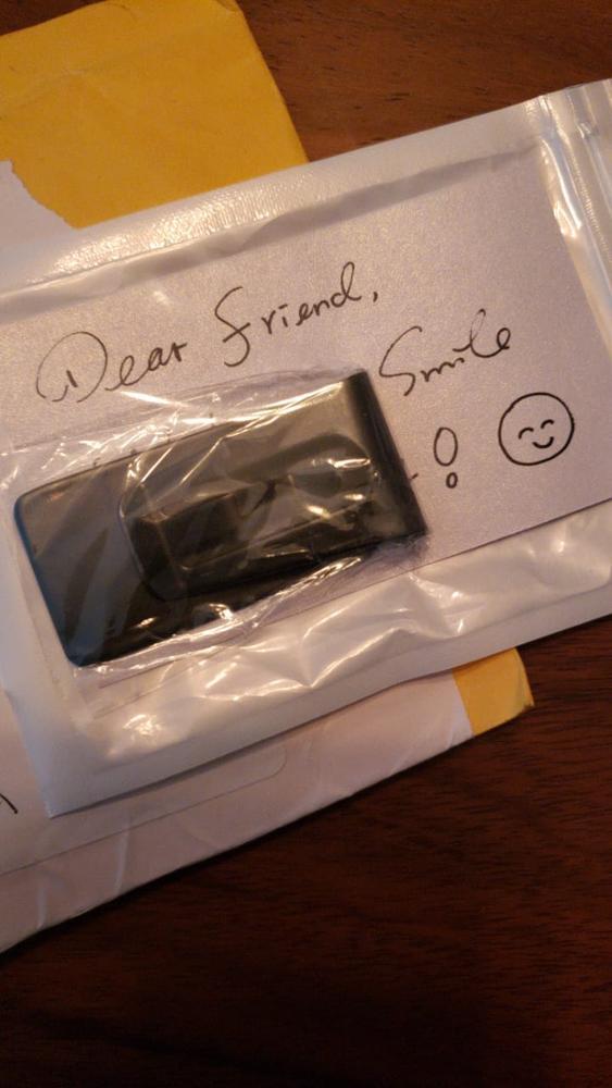 QOONG Custom Lettering Black Silver Slim Pocket Men Women Money Clip Business Card Credit Card Cash Wallet QZ40-004 photo review