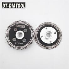 Dt diatool 2шт 75 мм Горячая прессованная мини Сетка турбо обод