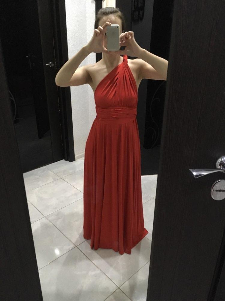 Пикантные Для женщин многостороннего Обёрточная бумага Кабриолет Boho Макси Club красное платье повязки длинное платье Вечерние подружек невесты Бесконечность халат Longue Femme