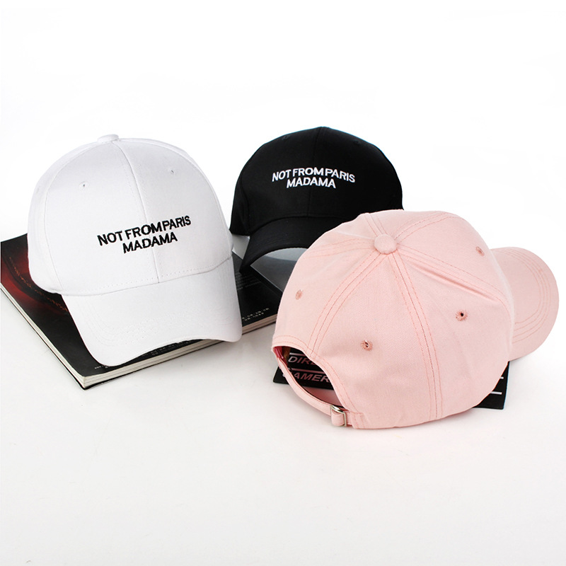 women men New Unisex LetterEmbroidery Baseball Caps unisex solid Snapback hats HipHop Youth Hat Caps casual caps fashion hats 2016 winter fashion hat bitch beanie knitted warm hats toca unisex caps gorros bonnet skullies for men and women gorro invierno