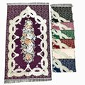 Исламский Молитвенный Ковер мусульманский коврик для молитв JaNamaz Salat Sajadah специальный подарок eid