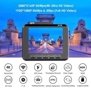 Image 2 - AZDOME M06 WiFi GPSในตัวDual FHD 1080P + VGAด้านหลังกล้องรถDVRเครื่องบันทึก 4K Dash Cam Dashcam WDR Night Vision