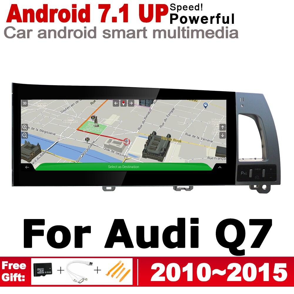 """רשימת הקטגוריות 10.27"""" סטריאו מסך HD אנדרואיד 7.1 עד לרכב GPS Navi מפה אאודי Q7 4L 2010 ~ 2015 MMI מקורי סגנון מולטימדיה נגן רדיו אוטומטי (1)"""
