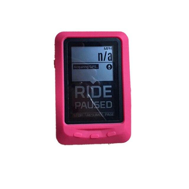 Bicicleta genérico Silicone Case & Protetor de Tela Film para Wahoo ELEMNT GPS Computador Caso Qualidade para wahoo elemnt