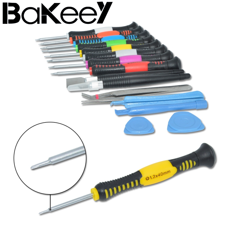 Best Deal Bakeey 16pcs Screwdriver Set Hand Repair Tool Kits for Phone Laptop For iPad