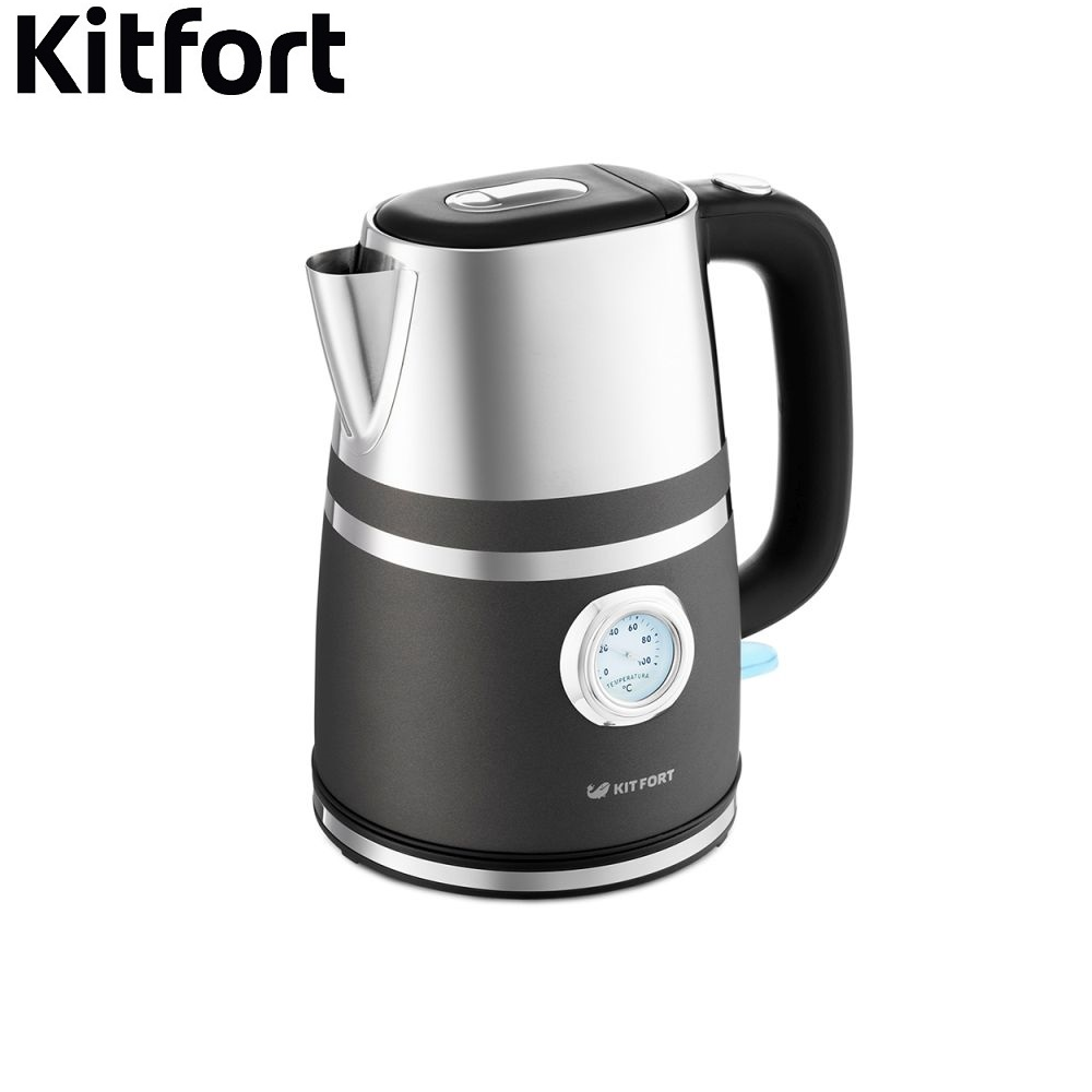 Electric Kettle Kitfort KT-670 Kettle Electric Electric kettles home kitchen appliances kettle make tea Thermo electric kettle philips hd9305 21 metal