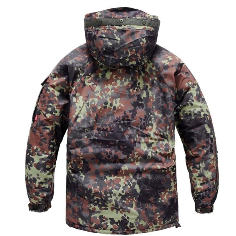 Men's Winter Waterproof 10,000 mm Warming Camo Military Jacket