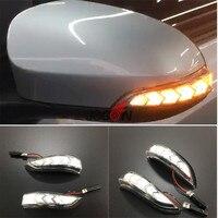 LED Light Dynamic Turn Signal Side Mirror Blinker Indicator For Toyota Camry XV50 2012 2017 For Corolla E170 2014 2017