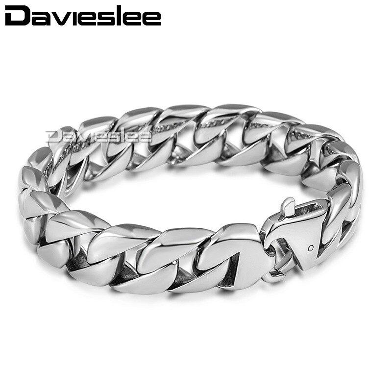 Браслет LHB164 из нержавеющей стали для мужчин и мальчиков, 14 мм, 316|jewelry for a friend|jewelry ctjewelry mall | АлиЭкспресс