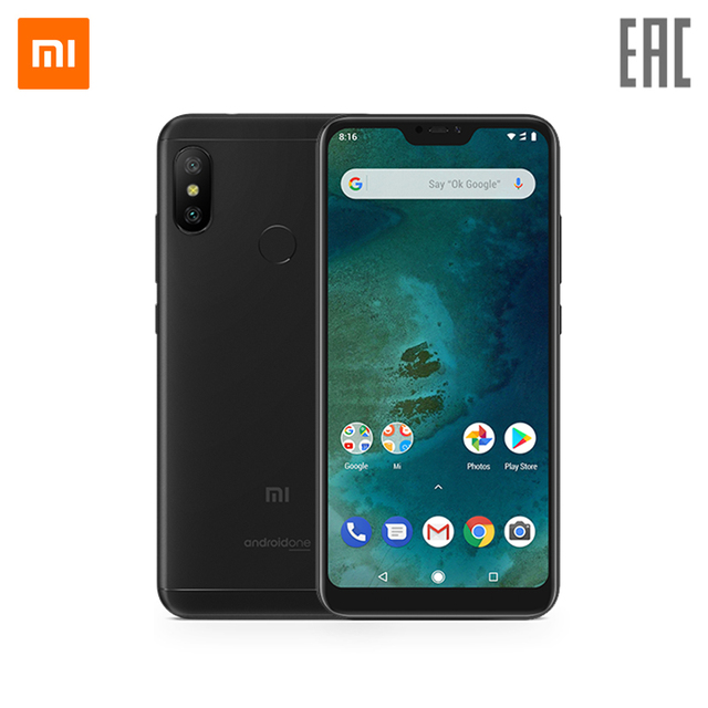 Смартфон Xiaomi Mi A2 Lite 3 + 32 gb
