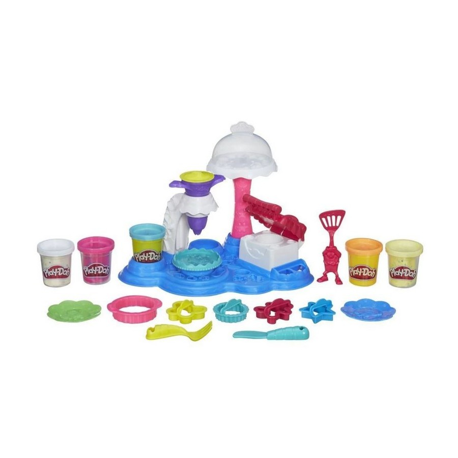 Modeling Clay Play-Doh set Sweet party for girls and boys B3399121 Hasbro doershow fashion italian shoe with matching bag set for party african women shoe and bag to match set yellow party shoes pqs1 8