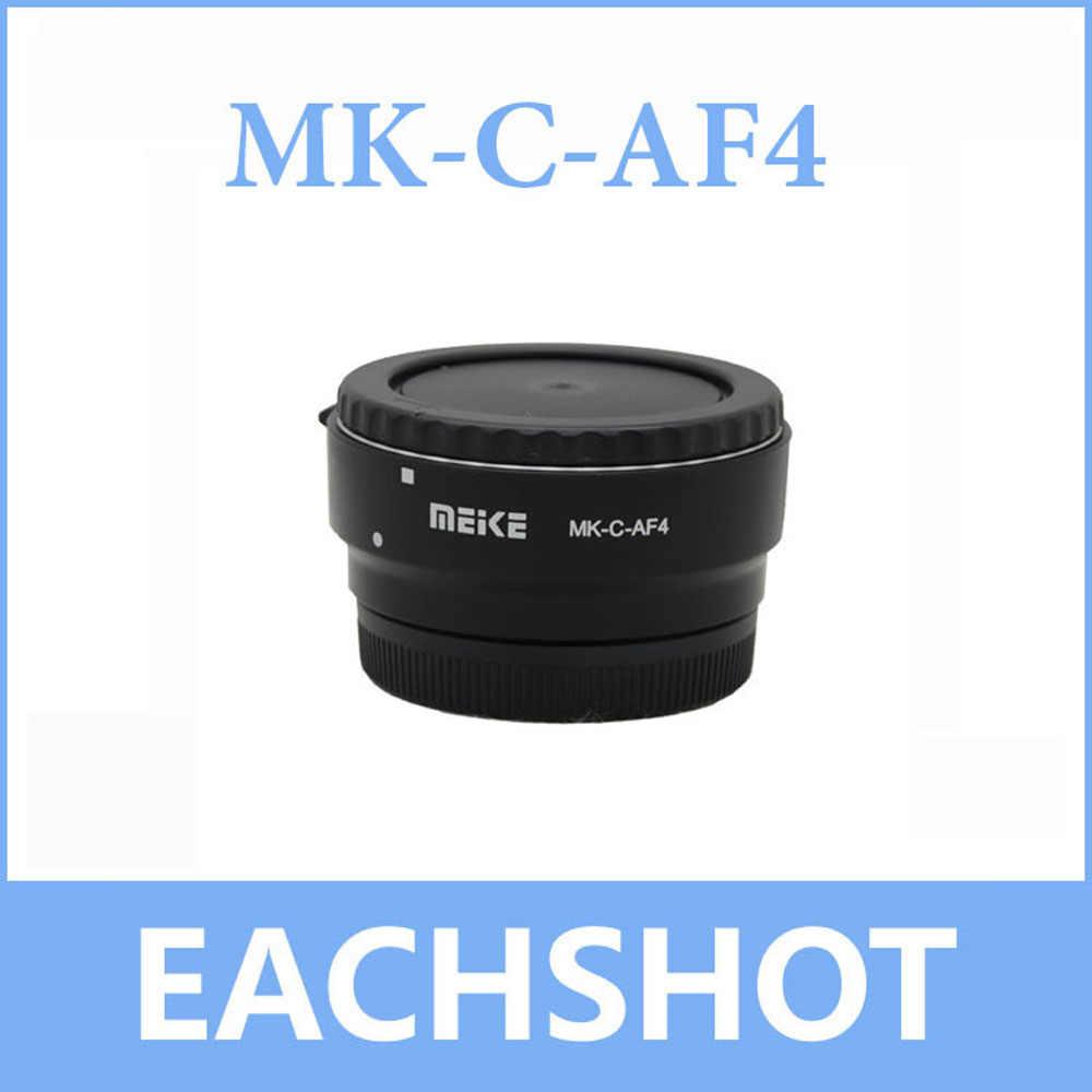 Майке MK-C-AF4 Майке Электронный Автофокус адаптер для Canon EF EF-S объектив EF-M к EOS M50 M10 M5 M6 M100 M3 Камера