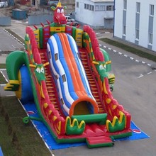 Double lane inflatable slides castle slides inflatable Dragon slide 2016 factory direct sales inflatable slides inflatable castle inflatable arch inflatable tents ky 221