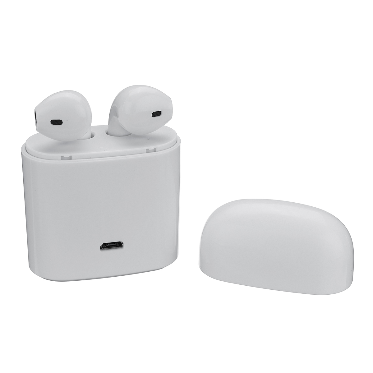 Bluetooth In-Ear Headphone Earbud Wireless Headset Stereo Earpiece Earphone With Noise Canceling Mic for iPhone/Samsung Galaxy remax mini bluetooth 4 1 earphone car calls wireless invisible head phone earbud noise canceling with mic for iphone mi phone