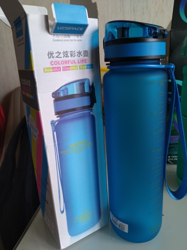 Explosion Sports Water Bottles 500ML 1L Protein Shaker Outdoor Travel Portable Leakproof Tritan plastic My Drink Bottle BPA Free-in Water Bottles from Home & Garden on AliExpress - 11.11_Double 11_Singles' Day