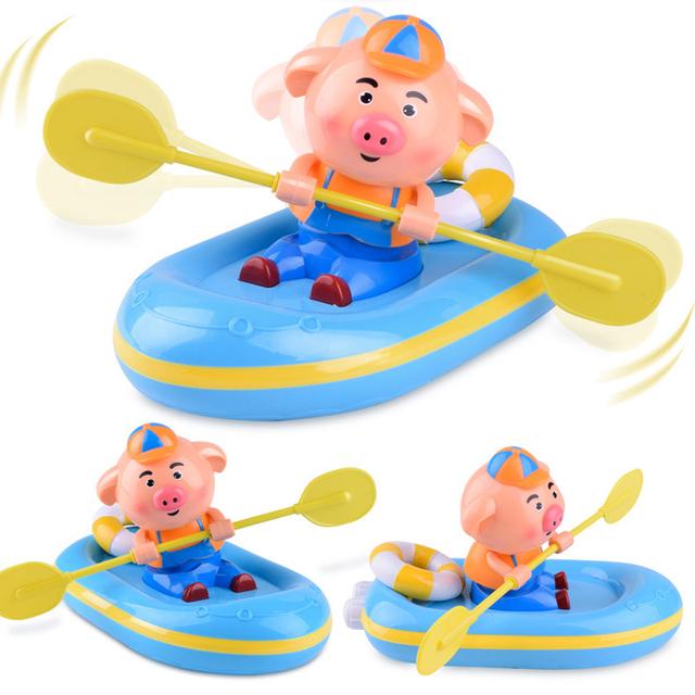 YETAA Clockwork Bathroom Cartoon Baby Bath Shower Toys